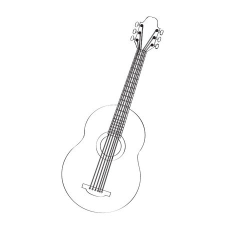 Guitar icon. 向量圖像