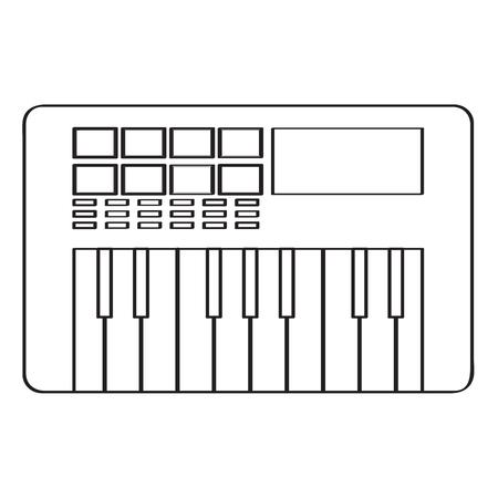 Keyboard icon. 向量圖像