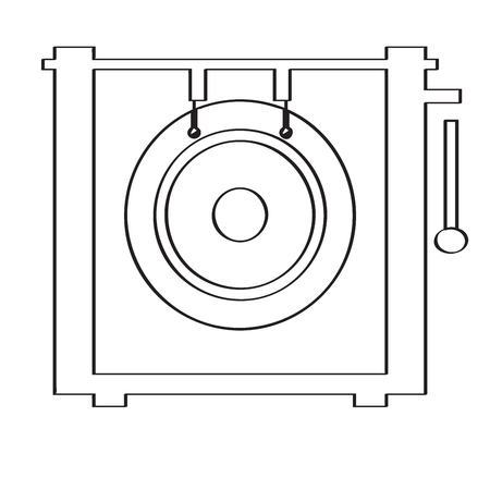 Gong icon.