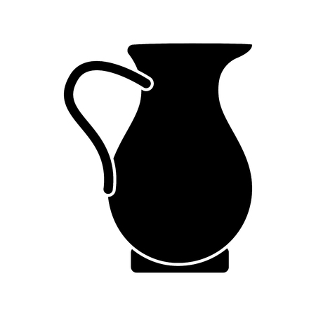 Traditional juice jar icon