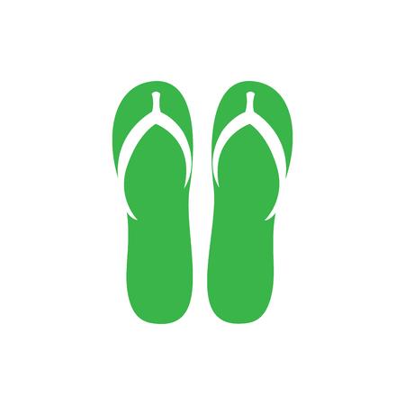 Flips flops icon Vectores