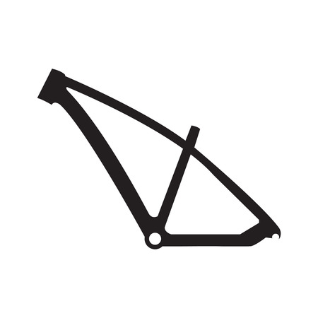 Bike frame icon