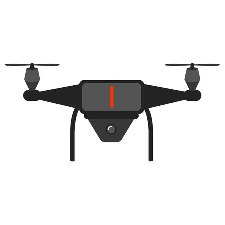 Isolated drone toy icon Stock Illustratie