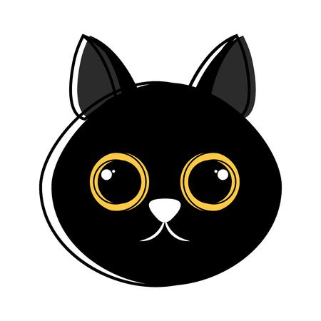 Cute cat avatar sketch