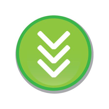Isolated web button icon. Vector illustration design