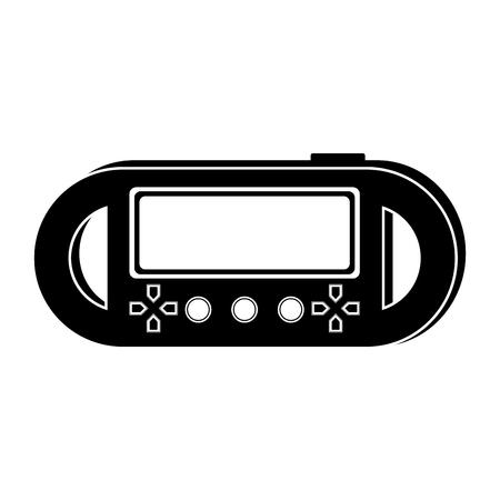 Isolated portable videogame console icon. Vector illustration design Stock Vector - 112085417