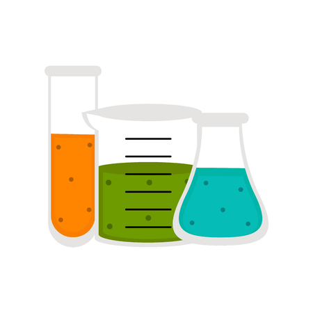 Isolated chemistry class icon. Vector illustration design