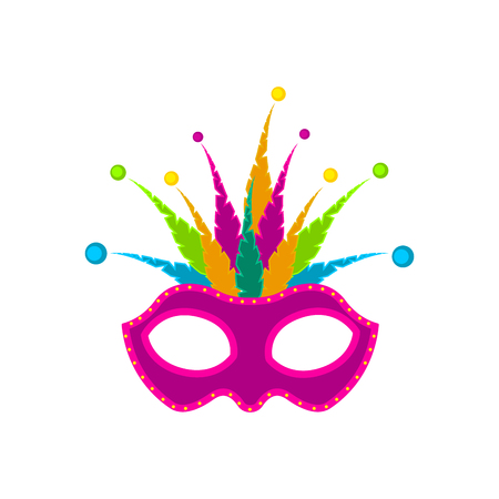 Isolated carnival mask image 免版税图像
