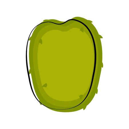 Isolated soursop sketch icon. Vector illustration design Illustration
