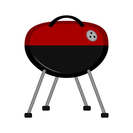 Isolated barbecue grill icon. Vector illustration design