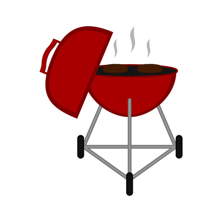 Isolated barbecue grill icon. Vector illustration design