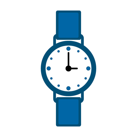 Isolated wristwatch icon
