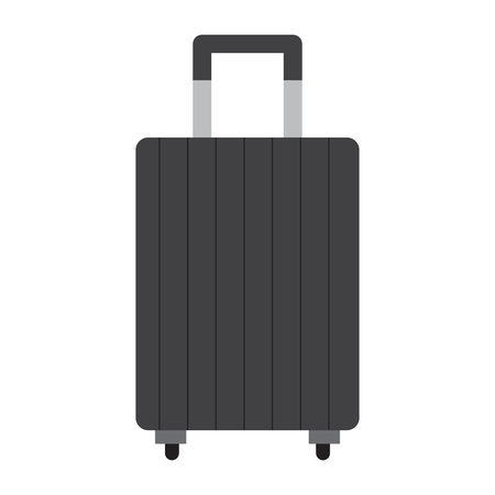 Isolated travel suitcase icon. Vector illustration design