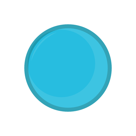 Isolated yoga ball icon. Vector illustration design