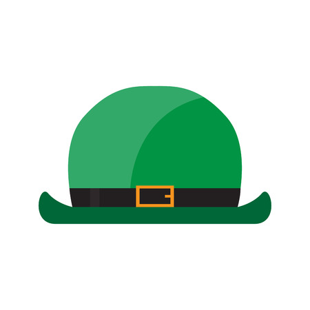 Traditional irish hat. Patrick day. Vector illustration design