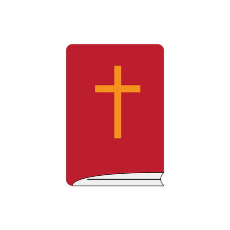 Isoalted holy bible icon. Vector illustration design