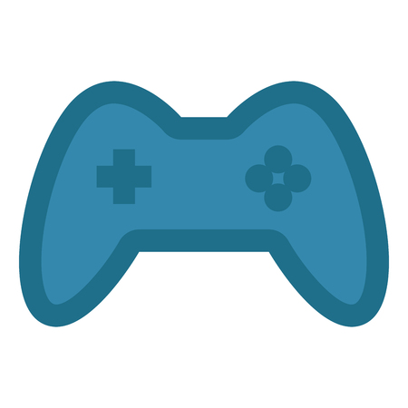 Isolated joystick icon image. Vector illustration design Vetores