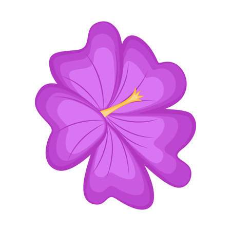 Isolated beautiful flower image. Vector illustration design 向量圖像
