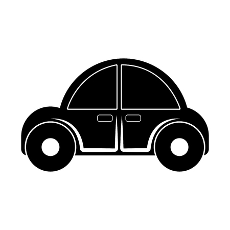 Isolated car toy for kids icon - Vector