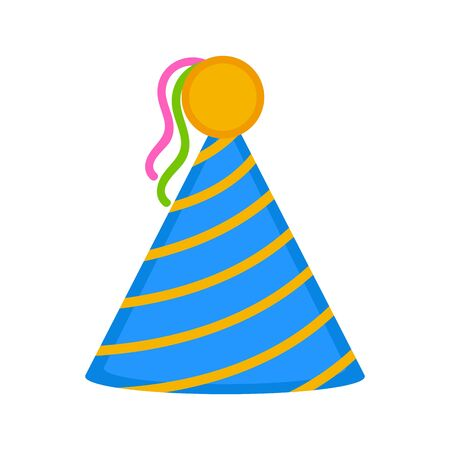 Isolated party hat icon. Vector illustration design