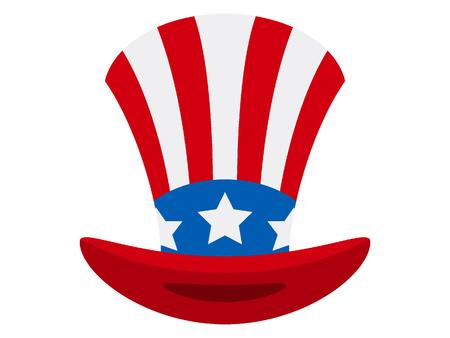 Vector illustration of a USA Celebration Hat
