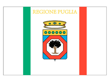 Flag of the Italian Region of Apulia