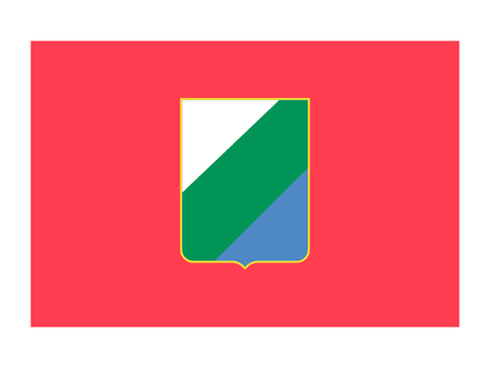 Flag of the Italian Region of Abruzzo