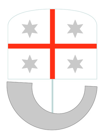 Coat of Arms of the Italian Region of Liguria