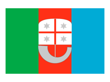 Flag of the Italian Region of Liguria