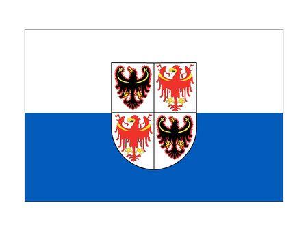 Flag of Italian region of Trentino-South Tyrol