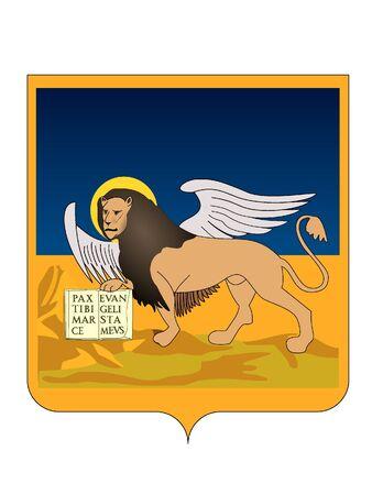 Coat of Arms of the Italian region of Veneto