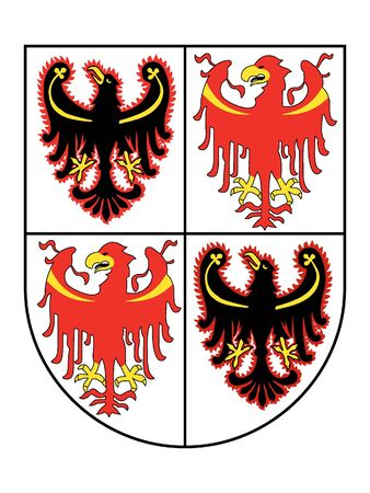 Coat of Arms of the Italian region of Trentino-South Tyrol