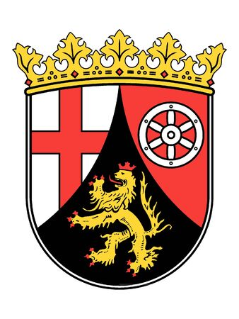 Coat of arms of the German State of Rhineland-Palatinate