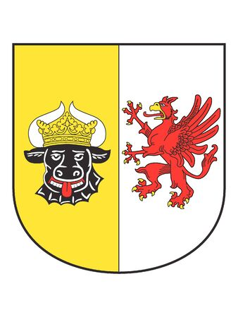 Lesser Coat of arms of the German State of Mecklenburg-Vorpommern