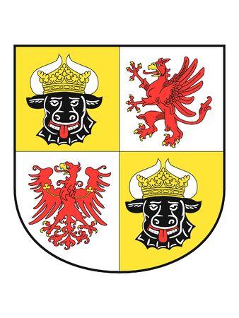 Coat of arms of the German State of Mecklenburg-Vorpommern