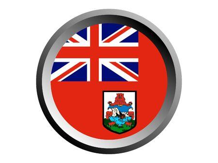 Round National Flag of Bermuda