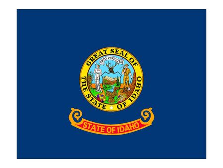 US State of Idaho Flag