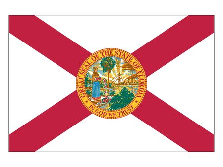 US State of Florida Flag