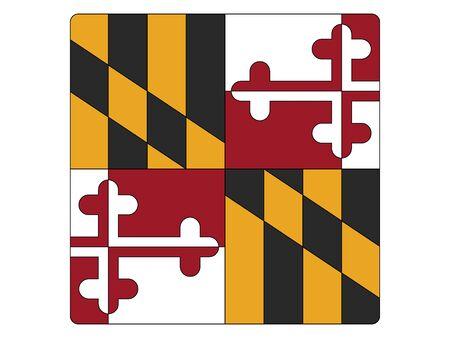 Maryland Square Flag