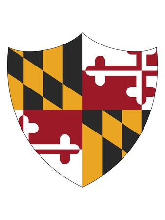 Maryland Shield Flag