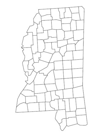 Mississippi County Map
