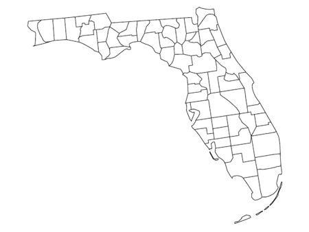 Florida County Map