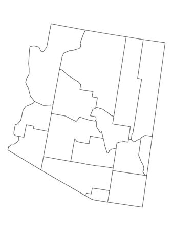 Arizona County Map