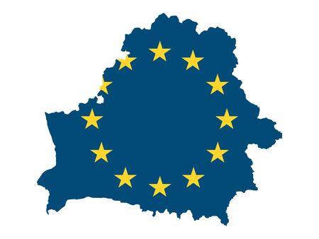 European Union Map of Belarus