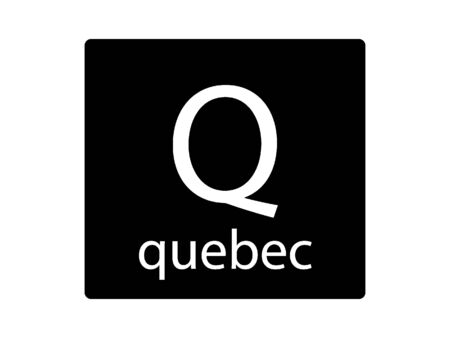 Army Phonetic Alphabet Letter Quebec