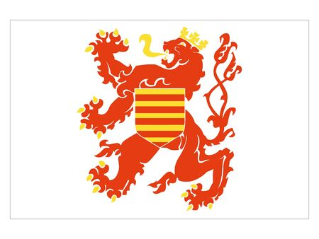 Flag of Belgian Province of Limburg