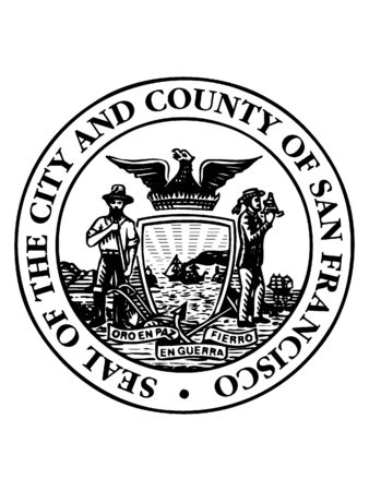 Seal of USA City of San Francisco, Californ