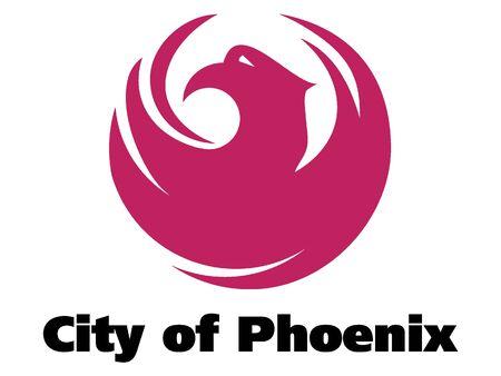 Seal of USA City of Phoenix, Arizona 向量圖像