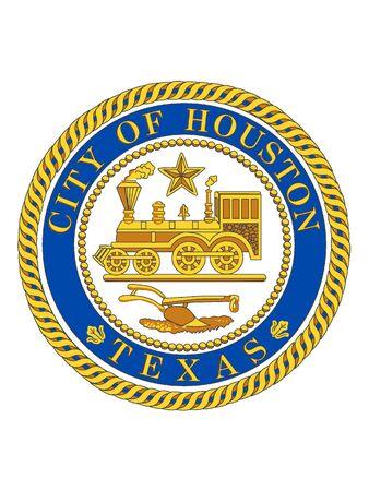 Seal of USA City of Houston, Texas