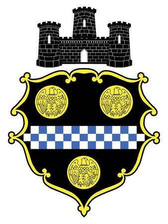 Seal of USA City of Pittsburgh, Pennsylvania